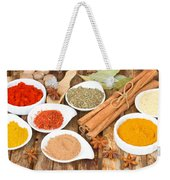 Mix  Of Spices Weekender Tote Bag