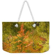 Mixed Autumn Weekender Tote Bag