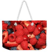 Mixed Berries Weekender Tote Bag