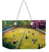 Mixed Doubles Weekender Tote Bag