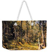Mixed Forest Weekender Tote Bag