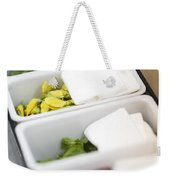 Mixed Fresh Herbs In Kitchen Interior Weekender Tote Bag