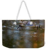 Mixed Frogs Hands Up Weekender Tote Bag