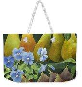 Mixed Fruit Weekender Tote Bag