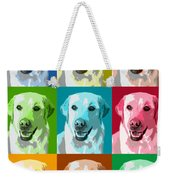 Golden Retriever Warhol Weekender Tote Bag