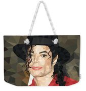 Mj Low Poly Weekender Tote Bag