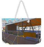 Mv  Krait In Darling Harbour Sydney Weekender Tote Bag