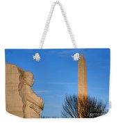 Mlk And Washington Monuments Weekender Tote Bag