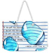 Mlk Love Note Weekender Tote Bag