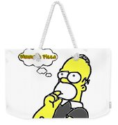 Mmmm Pizza Weekender Tote Bag