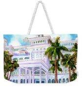 Moana Surfrider Hotel On Waikiki Beach #206 Weekender Tote Bag