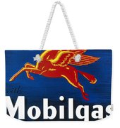 Mobil Advertisement, 1935 Weekender Tote Bag