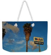 Mobil Self Serve Weekender Tote Bag