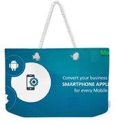 Mobile-app-development-mobiloitte Weekender Tote Bag
