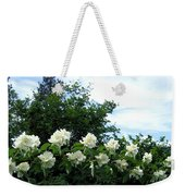 Mock Orange Blossoms Weekender Tote Bag