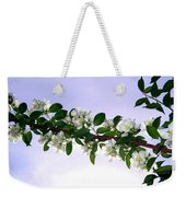 Mock Orange Weekender Tote Bag