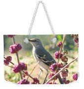 Mockingbird Heaven Weekender Tote Bag