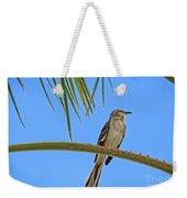 Mockingbird In A Palm Tree Weekender Tote Bag