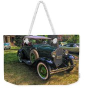 1928 Model A Ford  Weekender Tote Bag