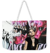 Model Day Of The Dead  Weekender Tote Bag