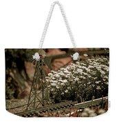 Model Railroad Windmill Weekender Tote Bag