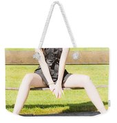 Model Weekender Tote Bag