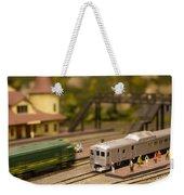 Model Trains Weekender Tote Bag