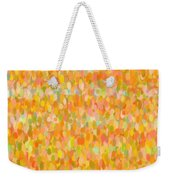 Modern Abstract Pointilist Color Combination 1 Weekender Tote Bag