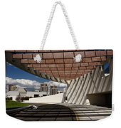 Modern Architecture Of Ismaili Centre Entrance With Aga Khan Mus Weekender Tote Bag