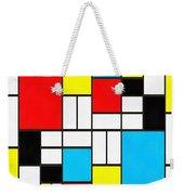 Modern Art Square Weekender Tote Bag