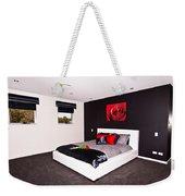 Modern Bedroom Weekender Tote Bag