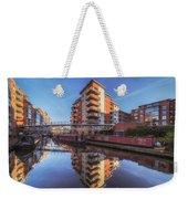 Modern Canal Living Weekender Tote Bag