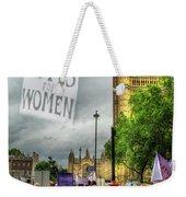 Modern Day Suffrage Weekender Tote Bag