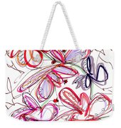 Modern Drawing Fifty-eight Weekender Tote Bag