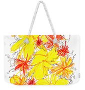 Modern Drawing Fifty-five Weekender Tote Bag