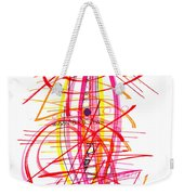 Modern Drawing Forty-five Weekender Tote Bag