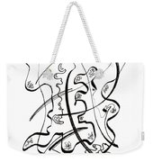 Modern Drawing Forty-seven Weekender Tote Bag