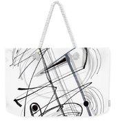 Modern Drawing Thirty-eight Weekender Tote Bag