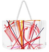 Modern Drawing Thirty-nine Weekender Tote Bag
