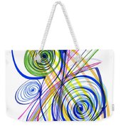 Modern Drawing Thirty-seven Weekender Tote Bag