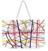 Modern Drawing Twelve Weekender Tote Bag