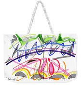 Modern Drawing Twenty-five Weekender Tote Bag