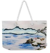 Modern Japanese Art In The Shadow Of The Past - Utsumi And Kano School Weekender Tote Bag