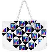 Modern Jazz Weekender Tote Bag