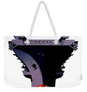 Modern Mobile Mighty Navy Weekender Tote Bag