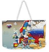 Modern Portrait Of Modern Europe - 3d Weekender Tote Bag