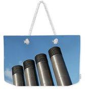Modern Restaurant Chimneys Weekender Tote Bag