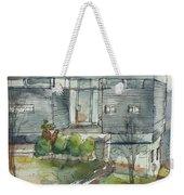 Modern Spring Weekender Tote Bag