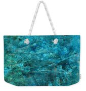 Modern Turquoise Art - Deep Mystery - Sharon Cummings Weekender Tote Bag