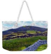 Moel Famau Hill Painting Weekender Tote Bag